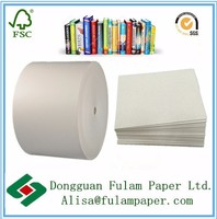 787x1092mm thickness 2mm laminated paper cardboard roll