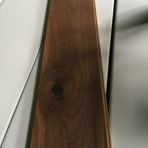 China Hot Selling Black Walnut Engineered Wood Flooring