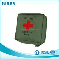 MILITARY FIRST AID KIT MEDICAL POUCH HIKING CAMPING SURVIVAL