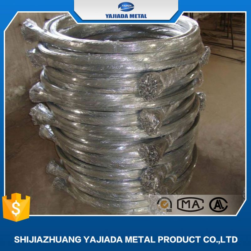 Safe construction Copper coated hot dipped galvanized loop tie wire electric galvanized