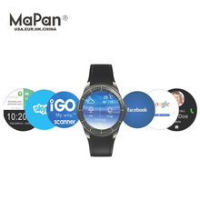 Factory price MaPan MW10 Phone 2017 GPS WCDMA 3G android smart watch for men