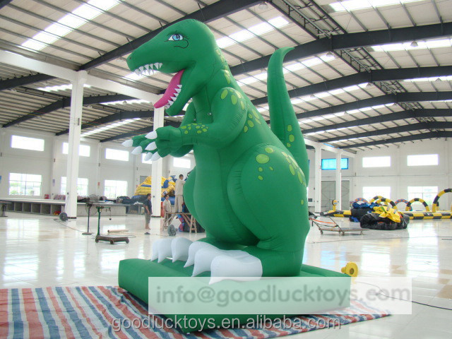 Giant Inflatable Big Cartoon Character Advertising inflatable Dinosaur Model