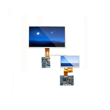 TS8050J-4 colorful active matrix TFT 5 inch tft lcd module 800 x 480 pixels display up to 16.7M colors