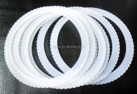 Rubber Glassware Washer, Serrated Washers used Glass Bottle Gasket