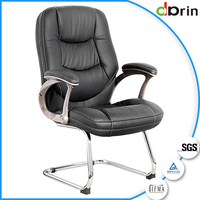Very cheap furniture supple cushion comfortable office chair without wheels