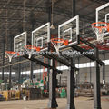 Portable Basketball System with 54/60/72-inch Aluminum Framed Glass Backboard
