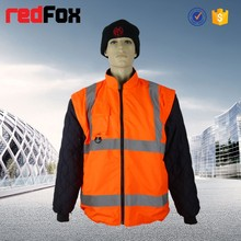 high quality safety reflective wholesale winter coat