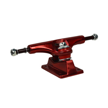 "KOSTON high quality Gravity Casting painted red 5"" skateboard truck"