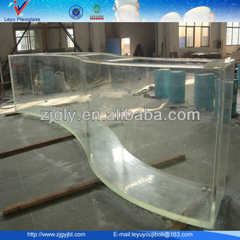 Clear Acrylic Sheets For Fish Tanks Aquariums Swing Pools Buy Cast Acrylic Sheet Curved