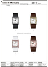 The hot sell wholesale high quality special fashion design lady watch