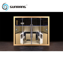 Sunrans computer controller steam shower sauna combination room for 4 people
