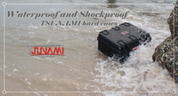 Tsunami case/rigid plastic tool case for rescue operation