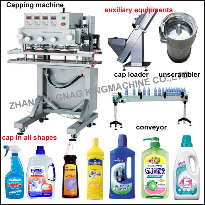 Full automatic capping machine/ rotary capper