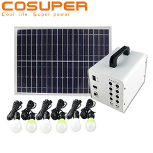 portable solar energy power system generator for home use