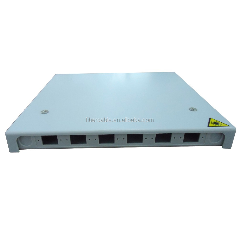 Supply 6 ports fiber optic termination box ftth mini fiber optic distribution box FTTH-008 fiber ftth 6 port joint box