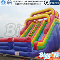 Giant Inflatable Slide Double Lane Slip Slide