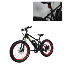 2017 Top 1 Shanghai fat tire ebike electro 26 4.0 electric fat bike 48v 500w bicicleta electrica