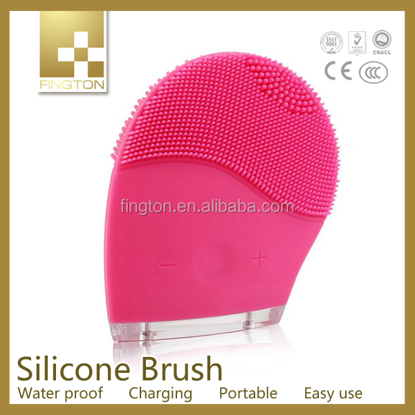 Deep cleasing Electric High Frequency Wave Vibration Face Clean Massage Sonic Facial Brush