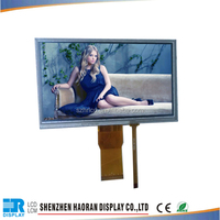 Capacitive touch screen tft 7 inch Lvds 1024 x 600 lcd display panel