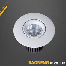 2017 hot factory supply 7 watt led ceiling light for restroom