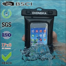 2016 fashionable waterproof cell phone bag for swimming/waterproof case for iphone 5c
