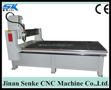 Senke 1300*2500mm water or air cooling spindle cnc wood router with stepper motor and driver,dsp control system,square orbit