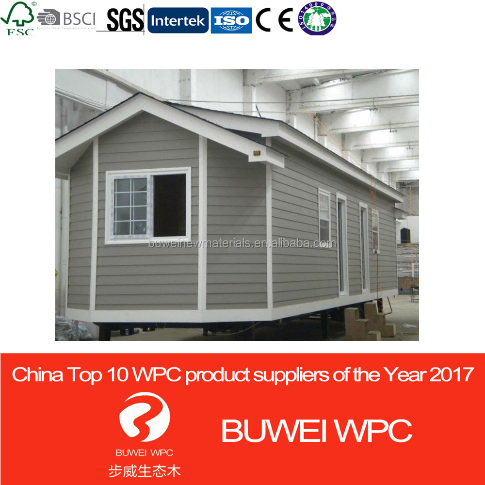 Outdoor wood plastic composite wpc green house small building