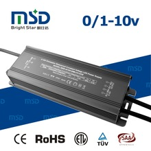 Shenzhen led lighting IP67 waterproof electric 0-10V dimmable led driver 80w dc 12V 24V converter