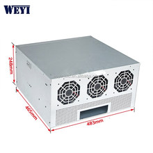 5.5U 483 hot items miner rig 8gpu eth miner case with black case painting chassis in stock