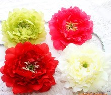 13cm Artificial flower large peony heads for stage decoration LP078