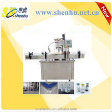Automatic Large infusion glass VIAL bottles rubber stoppering and cap sealing machine