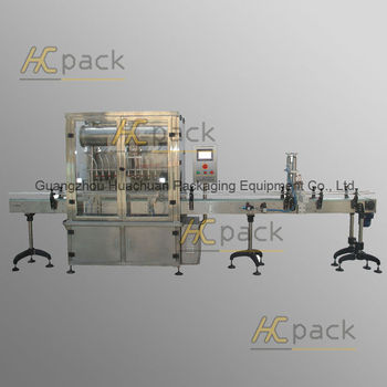 Ten-heads Full-automatic Negative Pressure Liquid Filler