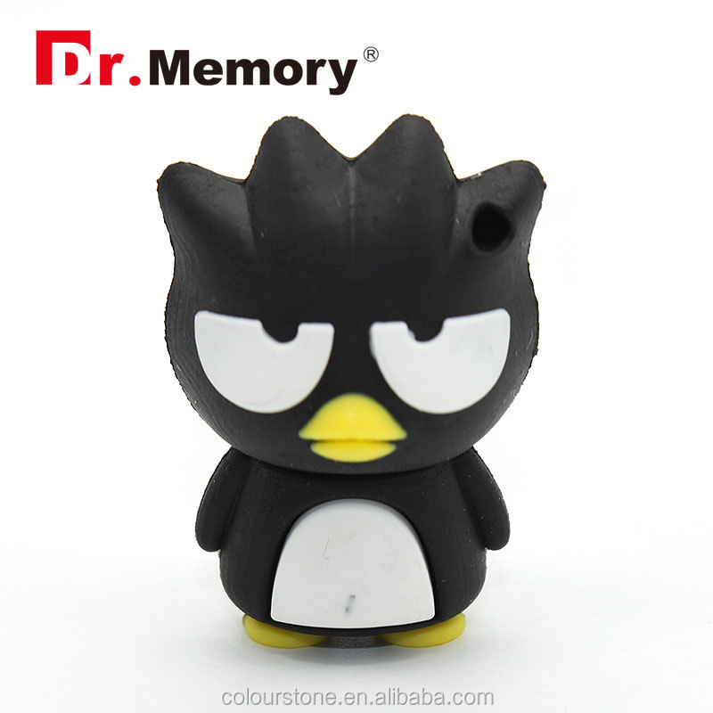 Dr.memory silicone penguin usb flash drive,cool PVC/RUBBER/SILICONE USB memory cards 1-64GB
