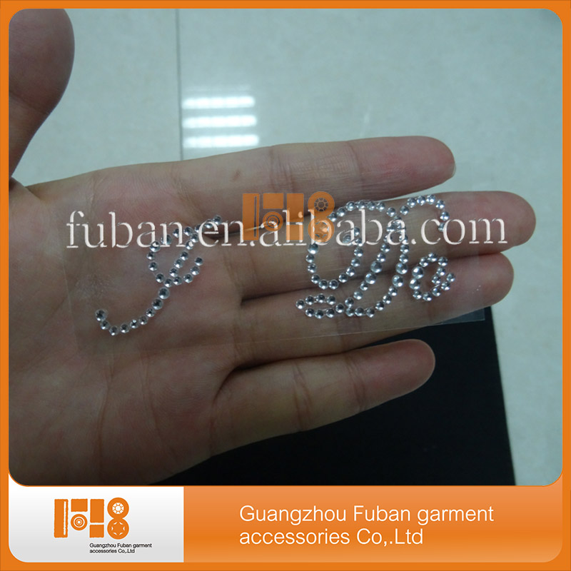acrylic rhinestone Wedding Shoe Stickers I DO sticker for shoe,I DO shoe sticker,high quality rhinestone Wedding Stickers