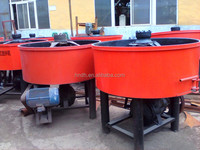 High quality JW750 planetary concrete pan mixers