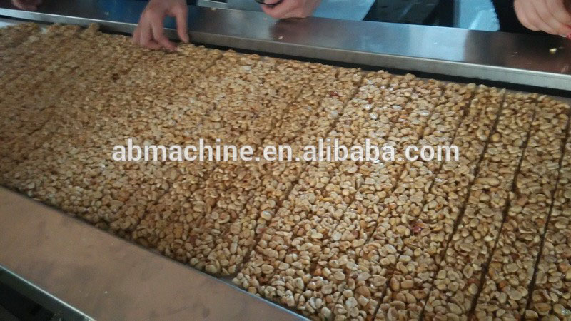 Production Line Protein Cereal Bar Machine granola bar making machine
