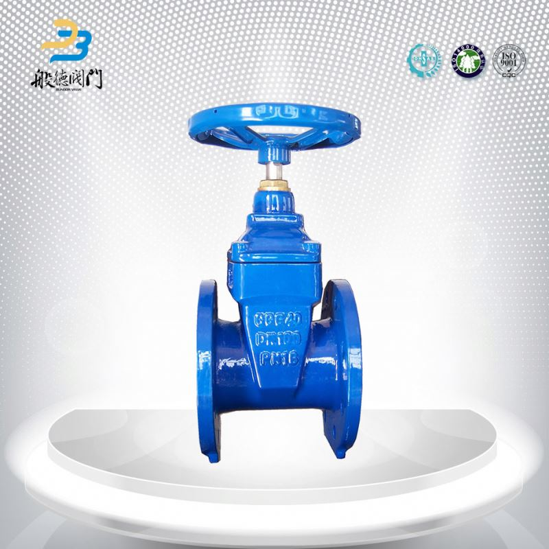Manufacturer japan ggg40 resilient seat gate valves gear operated