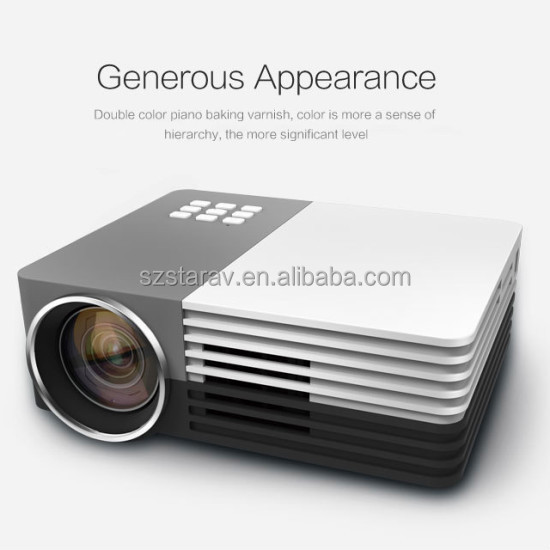 GM 50 mini led tv projector mobile phone projector pico projector