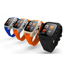 3G Network Wcdma 2100Mhz X01 WIFI Smart Watch Phone Waterproof with 4 colors