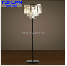 New product Supreme Quality pure crystal pendant lamp