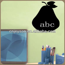 EJB13009 creative removable and reusable decorative wal chalkboard sticker for home decoration
