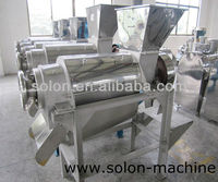 stainless steel seeds removing mango juice processing machine