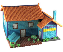 Licheng BXY03 DIY Toy House, Cheap Kids Home Play Toys from China