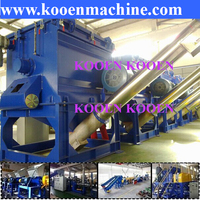 Hot selling waste PE film bottle hard plastic washing recycling drying machine plastic washing line