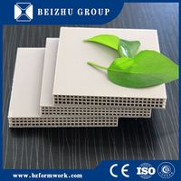 Free sample clear plastic wall panel slotted panel plywood from factory