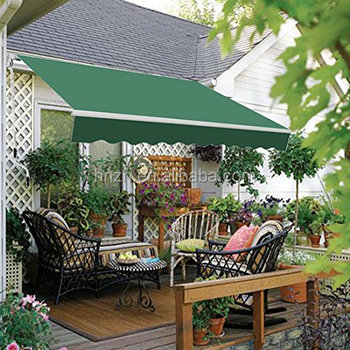 Fast delivery aluminum balcony retractable awnings