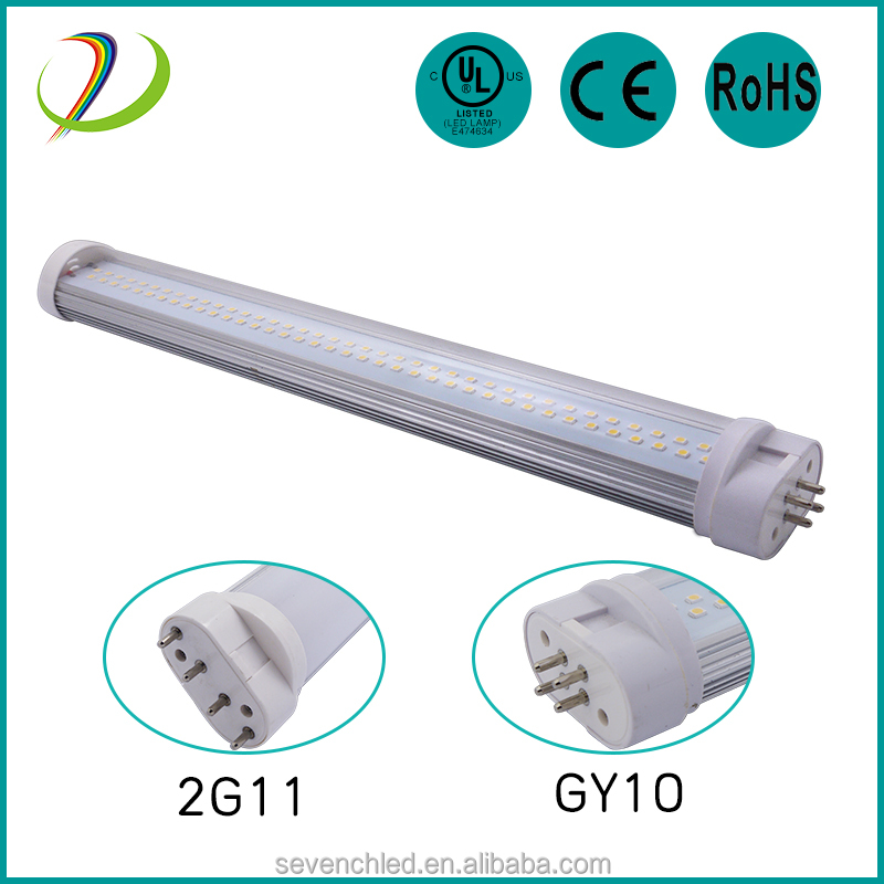 2g11 led linear 18W 4 pin 2g11 led pll tube 410mm UL CE RoHS approved 2g11 pl light
