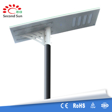 2017 hot selling integrated all in one solar led street lamp
