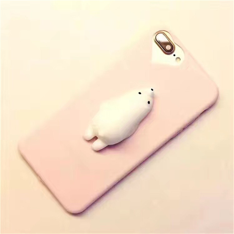 Manufacturer of custom 3d silicone squishy bird phone case for iPhone
