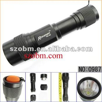 Romisen Best Q5 Aluminum Alloy Portable Long Distance Led Flashlight